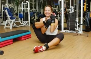 Трижды в неделю Жанна посещает фитнес-центр
