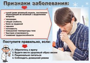 При первых же симптомах следует приступить к лечению