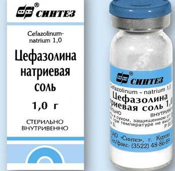 Можно ли использовать Цефазолин при беременности?