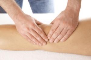 меры первой помощи при отеках колена