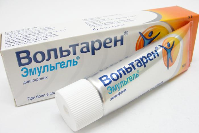Вольтарен гель — противоспалительный препарат