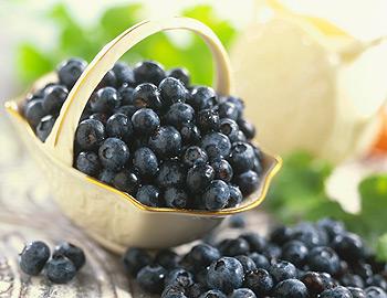 Рецепты с черникой, полезные свойства ягоды