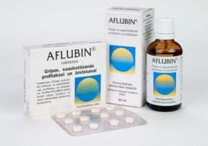 Фармакологическое действие Афлубина