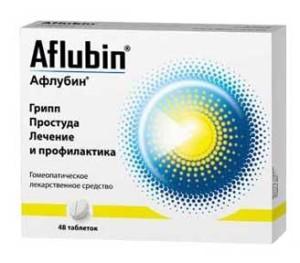 Состав препарата Афлубин