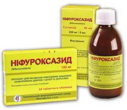 Показания к применению Нифуроксазида и дозирование