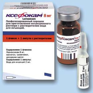 Состав и фармакологическое действие препарата Ксефокам