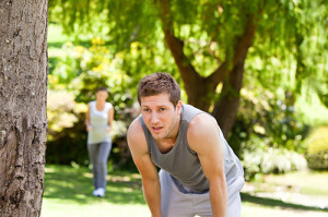 В основном одышка проявляется при значительном повышении нагрузки на дыхательную систему