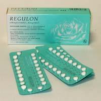 Противозачаточные таблетки Регулон