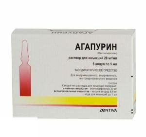Состав препарата Агапурин