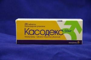 Состав медицинского препарата Касодекс