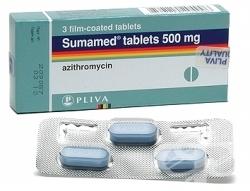 Взаимодействие Сумамеда с иными лекарственными средствами