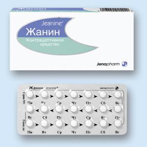 С помощью противозачаточного препарата Жанин можно регулировать месячные циклы