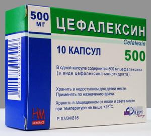 Применение цефалексина целесообразно, если без антибиотика не обойтись