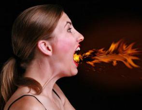 Ожог горла: тяжелые последствия от глупой случайности