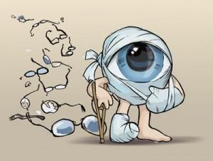 Принцип работы человеческого глаза