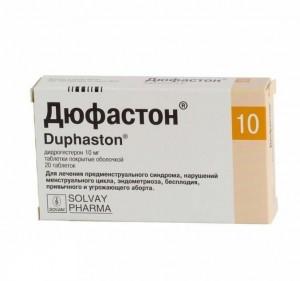 Лечение задержек и болезненных месячных Дюфастоном