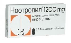 Применение Ноотропила