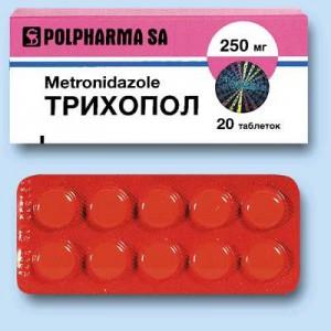 Фармакологическое действие Трихопола