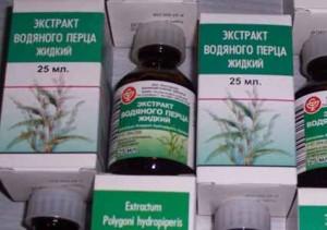 Экстракт водяного перца, отзывы о котором в большинстве случаев положительные, должен назначаться только врачом