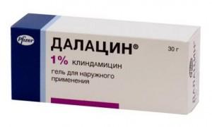 Как применять Далацин гель для лица