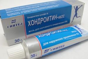 Как действует мазь Хондроитин