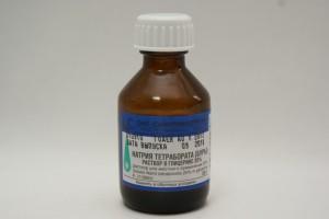 Противопоказания к применению натрия тетрабората