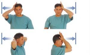 Основной комплекс упражнений для шеи при остеохондрозе
