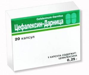 Формы выпуска Цефалексина и их состав