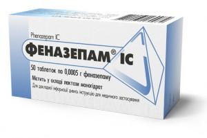 Отравление Феназепамом