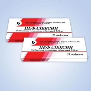 Дозировка Цефалексина