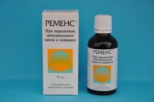 Таблетки Ременс являются гомеопатическим средством