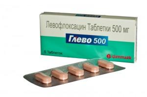 Глево — сравнительно новый и современный таблетированный препарат индийского производства, выступающий мощным антибактериальным медикаментом на основе фторированного компонента — гемигидрата левофлоксацина