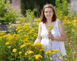 Аллергию могут вызывать цветущие растения