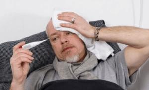 Лихорадочная реакция у взрослых