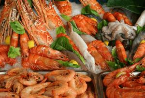 Морепродукты содержат много цинка