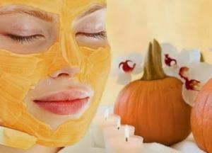 Косметическая маска на основе тыквы