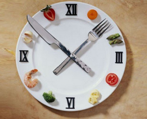 Следует соблюдать режим питания