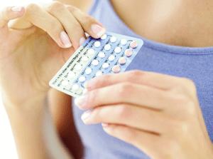 Гормональные противозачаточные таблетки