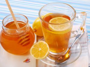 Мед с лимоном при лечении ангины