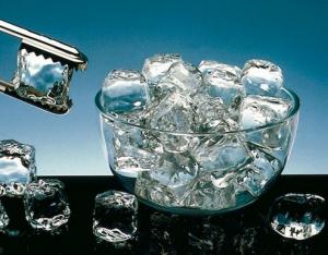 Пищевой лед может снизить интенсивность кровотечения
