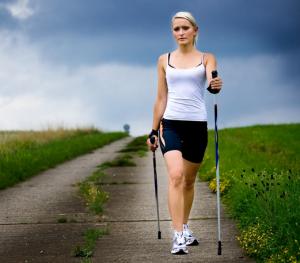 Расход калорий во время скандинавской ходьбы