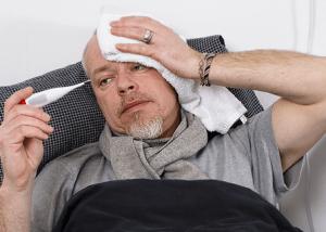 Головная и боль и кашель при СПИДе