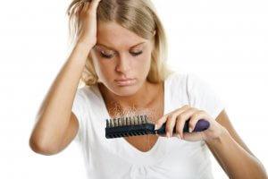 Стали выпадать волосы