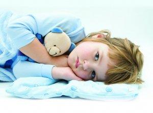 У ребенка фебрильные судороги ночью