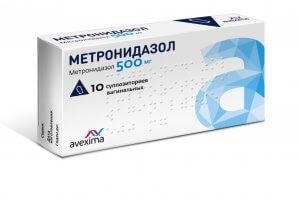 Опасная передозировка метронидазолом