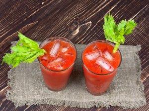 Сок сельдереевый с томатным
