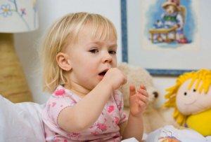У ребенка сухой надсадный кашель