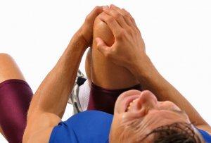Разрыв связок и повреждение менисков