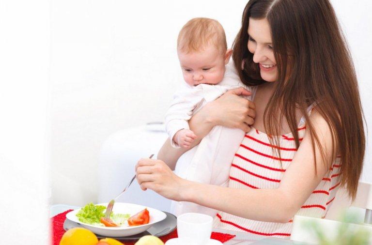 Диета для похудения для кормящей мамы