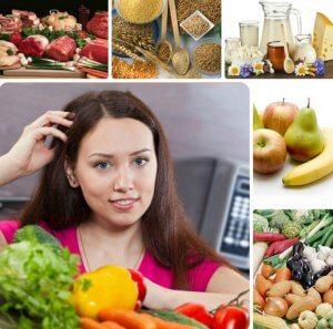 Рацион питания на неделю для кормящей мамы